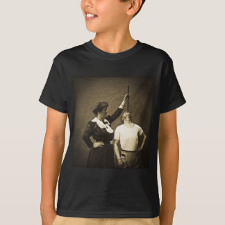 Sword Swallower and  Wife Vintage Sideshow Freaks T-Shirt