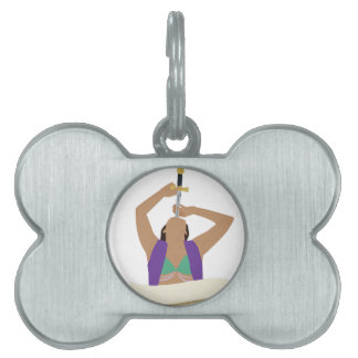 Sword Swallower Pet ID Tags
