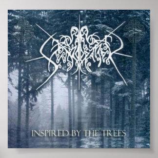 """Swordbearer """"Inspired by the Trees"""" album poster"""
