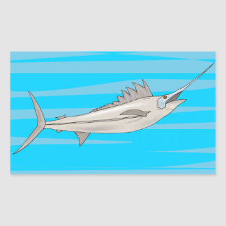 Swordfish 4 sticker