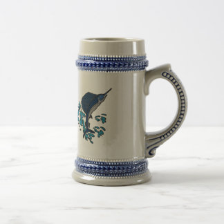 Swordfish Beer Stein