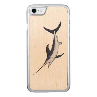 Swordfish Carved iPhone 7 Case