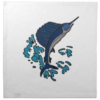 Swordfish Printed Napkin