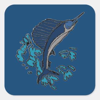 Swordfish Square Sticker