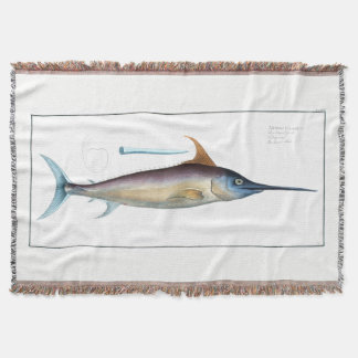 Swordfish Throw Blanket