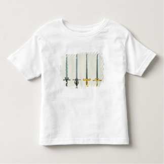 Swords, plate from 'A History of the Development a Tee Shirts