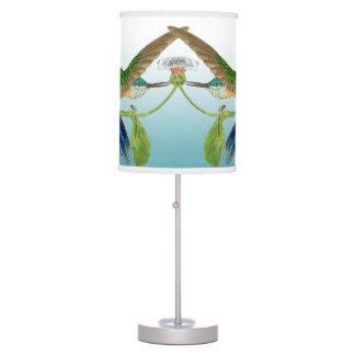 Swordtail Hummingbird Birds Wildlife Flowers Lamp