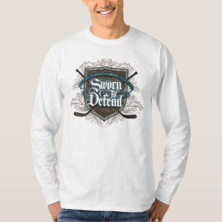 Sworn To Defend (Hockey Defenseman) T-Shirt