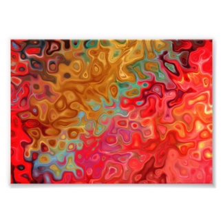 Swrilly Mod Art: Ride Abstract Photo Print