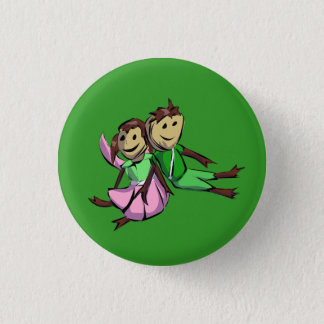 Sy and Lillie 1 Inch Round Button