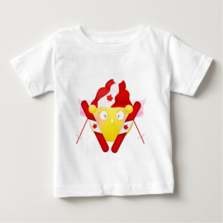 Sybille Ski - Canadian Colors Baby T-Shirt