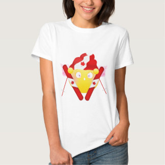 Sybille Ski - Canadian Colors Tee Shirts
