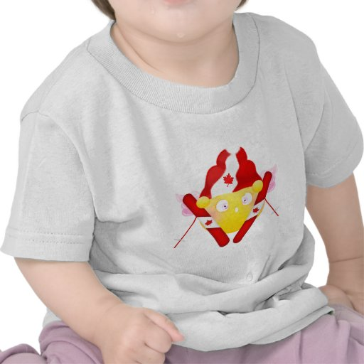 Sybille Ski - Canadian Colors T-shirts