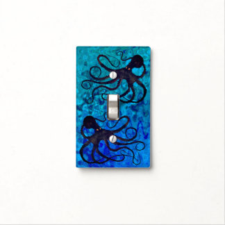 Sybille's Octopus - Light Switch Cover
