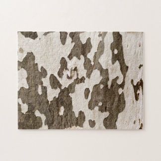 Sycamore Bark Jigsaw Puzzle