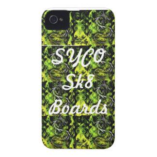 SYCO SK8 BOARDS multi green phone cover