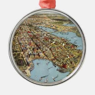 Sydney 1888 metal ornament