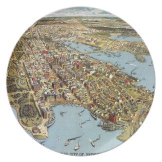 Sydney 1888 plate