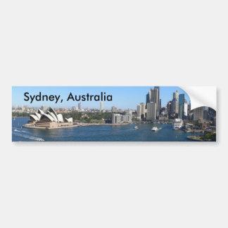 Sydney, Australia bumper sticker