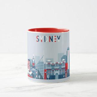 Sydney Australia City Skyline Mug