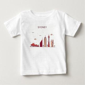 Sydney, Australia | Doodle Skyline Baby T-Shirt