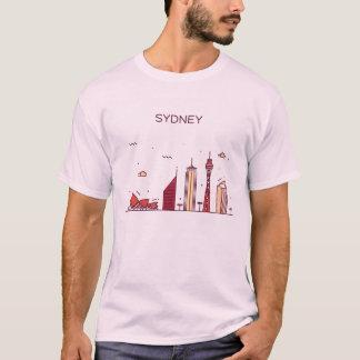 Sydney, Australia   Doodle Skyline T-Shirt