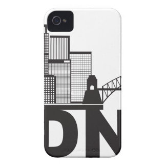 Sydney Australia Sklyine Text Outline iPhone 4 Cases