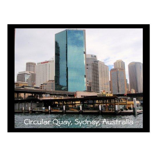sydney circular quay postcard