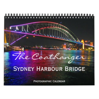 sydney coathanger wall calendars