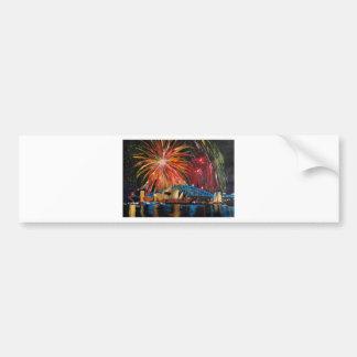 Sydney Firework at Opera House Bumper Sticker