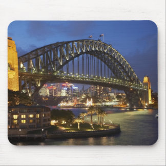 Sydney Harbor Bridge and Park Hyatt Sydney Hotel Mouse Pad