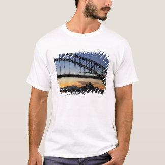 Sydney Harbor Bridge and Sydney Opera House at 2 T-Shirt