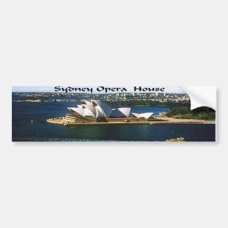 Sydney Harbor Oprea House Bumper Sticker