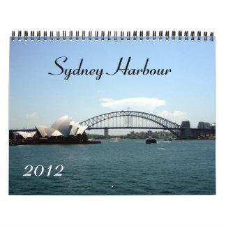 sydney harbour 2012 calendar
