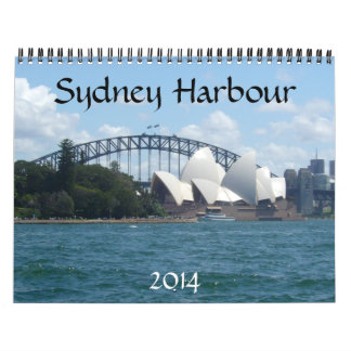 sydney harbour 2014 calendars