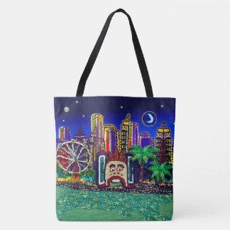 Sydney Harbour Australia by Sequin Dreams Studio Tote Bag
