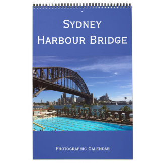 sydney harbour bridge australia calendar