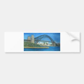 Sydney Harbour Bridge Bumper Sticker