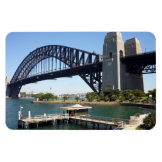 sydney harbour bridge jetty magnet
