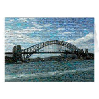 Sydney Harbour Bridge (Mosaic) Card
