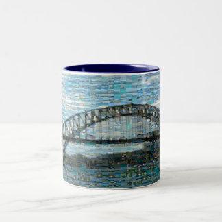 Sydney Harbour Bridge Mug (Mosaic)