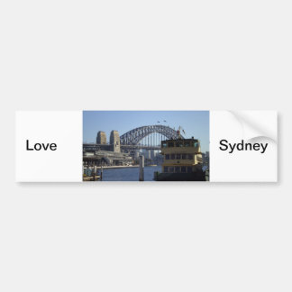 Sydney Harbour Bumper Sticker