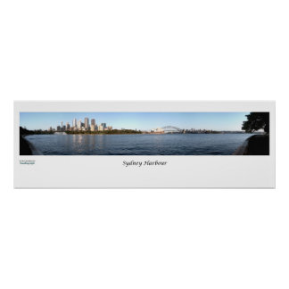 Sydney Harbour Panorama Poster
