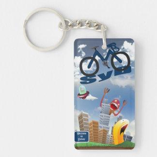 Sydney MTB Big Keyring Single-Sided Rectangular Acrylic Keychain