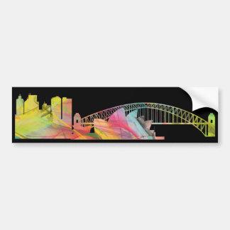 SYDNEY, NSW AUSTRALIA SKYLINE WB1-2 BUMPER STICKER