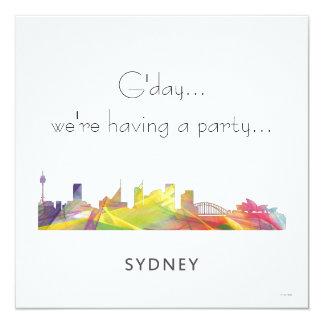 SYDNEY, NSW AUSTRALIA SKYLINE WB1 CARD