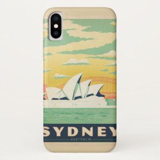Sydney, NSW, Australia Vintage Poster Case-Mate iPhone Case