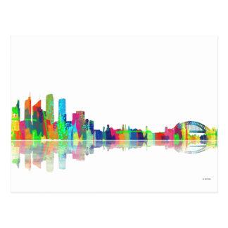 Sydney NSW Skyline Postcard