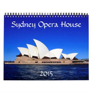 sydney opera house 2015 wall calendars
