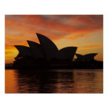 Sydney Opera House at Dawn, Sydney, New South Poster